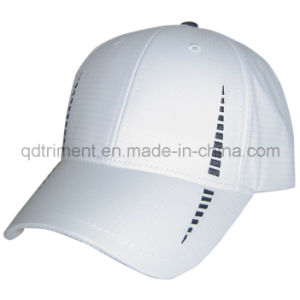 Reflective Banding 100% Polyester Neon Color Safety Baseball Cap (TMB0686) pictures & photos