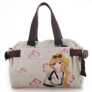 New Arrival, Fashion and Top Grade Lady Canvas Tote Bag pictures & photos