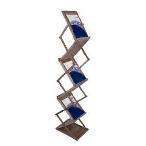 Foldable Catalog Display Stand