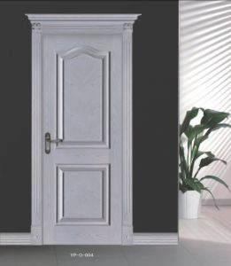 Free Design Wooden Door Interior Lacquer Bake Door White Color pictures & photos