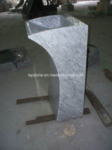 Freestanding White Marble Stone Sinks pictures & photos