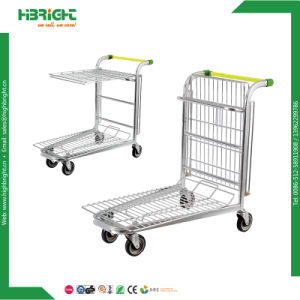Warehouse Trolley Logistic Cart pictures & photos