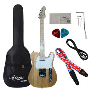 Aiersi Wholesale Electric Solid Body Tl Electric Guitar for Sale pictures & photos