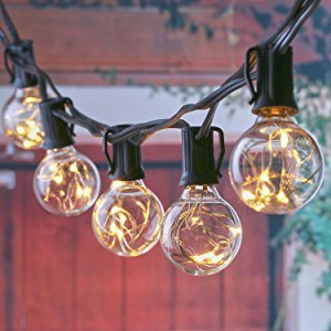 G40 String Lights UL Listed for Indoor/Outdoor, Patio Lights, Backyard Lights pictures & photos