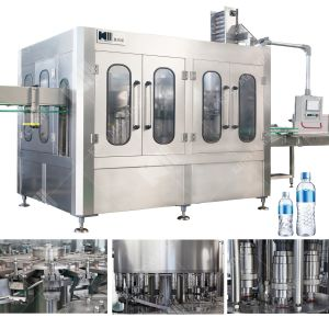 Pure Water Plastic Bottle Filling Machinery pictures & photos
