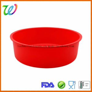 Silicone Non Stick Round Cake Bread Baking Mold Pans pictures & photos