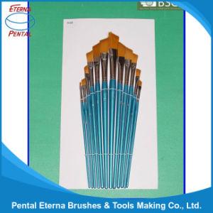 12PCS Wooden Handle Artist Brush Set (AB-074) pictures & photos