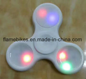 LED Tri Spinner Fidget Toy with 608 Bearing. pictures & photos