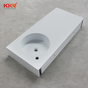 Resin Stone Bathroom Sink Solid Surface Corian Basin pictures & photos