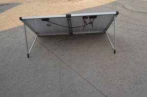 Mono 120W Folding Solar Panel with Battery Charger for Camping pictures & photos