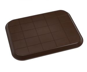 Heavy Duty Big Brown Plastic Tray Jx300 pictures & photos