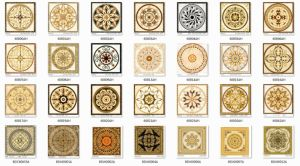 Carpet Tiles with Gold with Cheap Price (BDJ60054A-2) pictures & photos