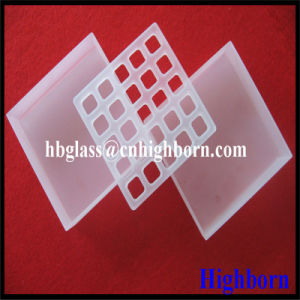 Ge Material Deep Process Laser Grooving Silica Quartz Glass Plate pictures & photos