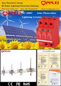 OEM Manufacturer High Standard SPD 1000V DC Solar Surge Arrester pictures & photos