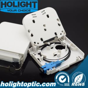 Indoor FTTH Fiber Optic Wall Mounted Faceplate pictures & photos