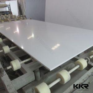 2017 White Engineered Artificial Marble Quartz Stone pictures & photos