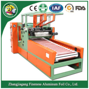 Hot Selling Rewinding and Cutting Machine for Household Aluminum Foil Roll (HAFA-850) pictures & photos