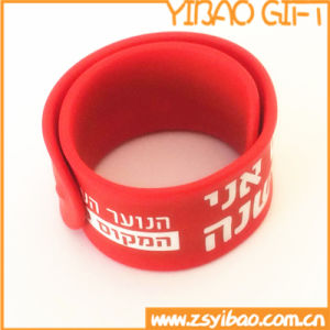 Custom Cheapest Slap Silicone Wristbands for Gifts (YB-SM-04) pictures & photos