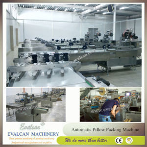 Semi-Automatic Horizontal Flow Wrap Machine for Biscuits pictures & photos