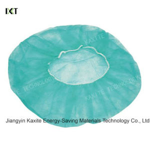 Disposable Medical Round Non Woven Bouffant Caps Kxt-Bc08 pictures & photos
