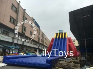 4 Lane Giant Inflatable Water Slide pictures & photos