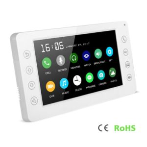 7 Inches Home Security Intercom Video Door Phone with Memory pictures & photos
