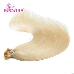 I-Tip Pre-Bonded Brazilian Virgin Human Hair Extension pictures & photos