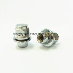 Nissan Car Use Chrome Wheel Nuts 12X1.25 pictures & photos