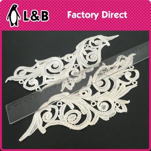 Shoulder Polyester Flower Lace Applique pictures & photos
