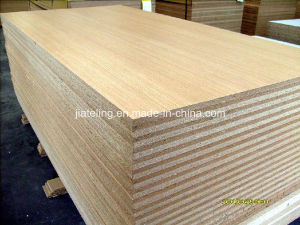 Melamine Faced Chipboard, Melamine Faced Particle Board pictures & photos