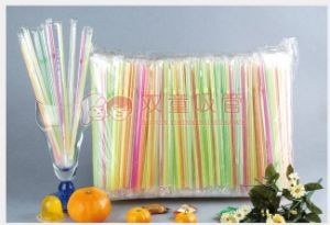 Hot Sale Individual Oppfilm Wrapped Straw pictures & photos