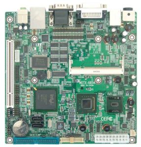 MITX-6854-Mini-ITX Fanless Motherboard Based on Intel Atom Processor With PCI Slot/Mini-Pcie/10COM/8USB