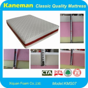Home Use Luxury HD Visco-Elastic Memory Foam Mattress (KMS07) pictures & photos