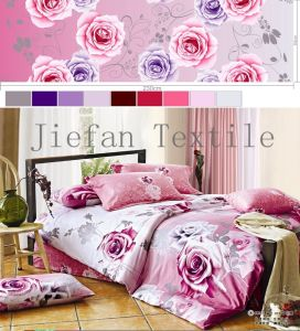 Nice Pattern and Fashion Colour of Fabric for Bedding Set
