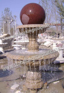 Hand Carved Marble Floating Ball Water Fountain for Outdoor pictures & photos