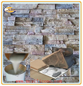 Artificial Stone Wall Mold Making Silicone Rubber pictures & photos