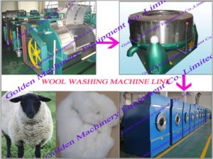 Stainless Steel Sheep Wool Washing Cleaning Processing Machine (WSGS) pictures & photos