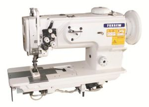 Double Needle Unison Feed Lockstitch Machine pictures & photos