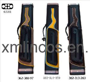 Billiards Cue Case Leather Design (62281)