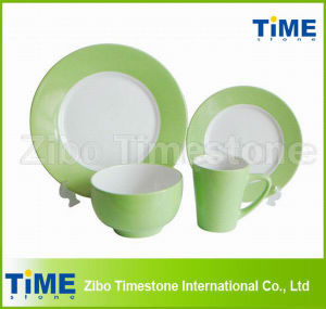 Two-Tone Color Ceramic Dinnerware Tableware pictures & photos