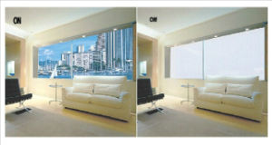 Switchable Magic Self-Adhesive Smart Film for Partition/Window/Door/Shower Room pictures & photos