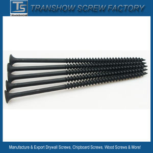 3.5*25mm C1022 Hardend Steel Black Phosphated Drywall Screws pictures & photos