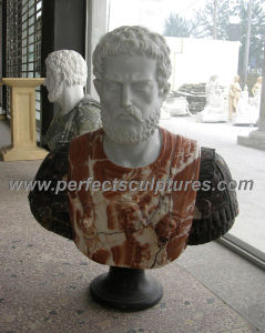 Stone Marble Sculpture Head Bust for Figurine Statue (SY-S272) pictures & photos