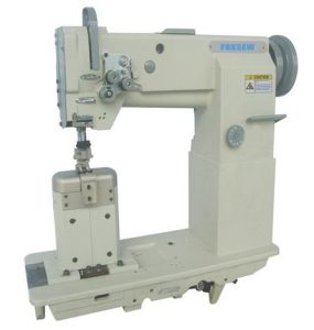 Walking Foot Post Bed Heavy Duty Lockstitch Sewing Machine pictures & photos