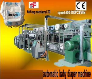 RF-Nka Full Automatic Servo Baby Diaper Machine