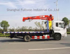 One-Drive-Two Slab Road Wrecker with Crane pictures & photos