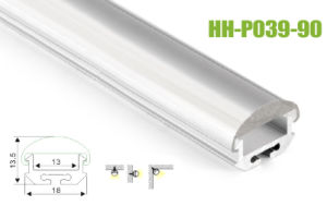 Hh-P039-90 Surface Mounted LED Aluminum Profiles pictures & photos