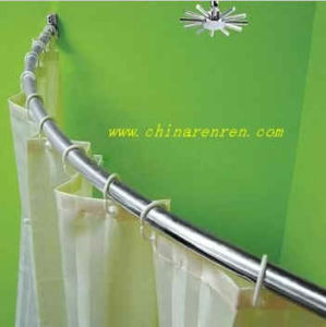 Stainless Steel Shower Curtain Rod (HM-8626) pictures & photos
