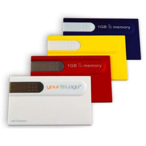 College Student Gift Card USB Flash Drive Custom Logo pictures & photos
