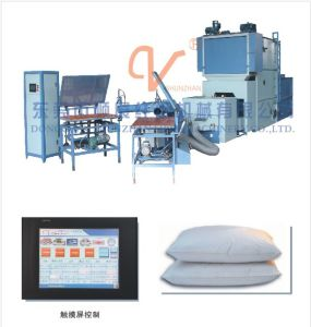 Fibre Carding&Filling Automatic Definite Quantity Production Line pictures & photos